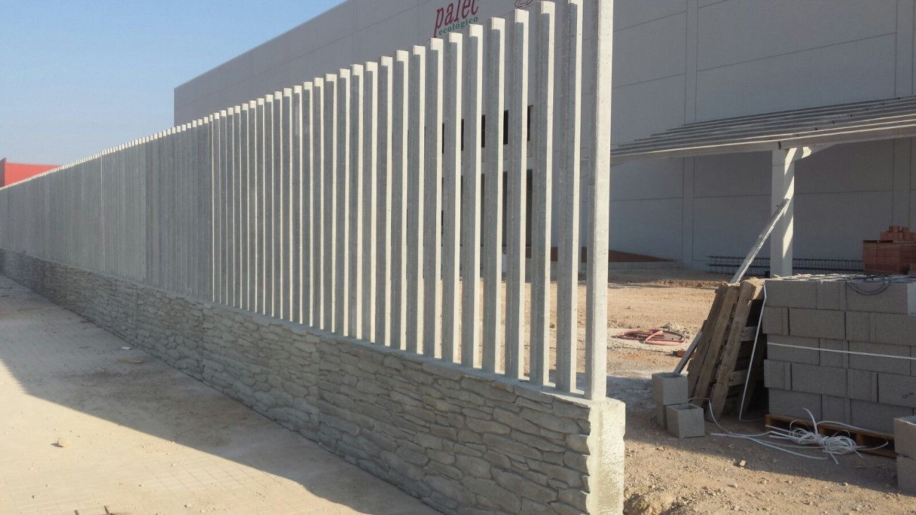 clôture béton
