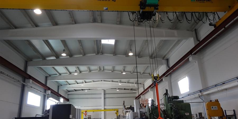 Bâtiment pour fabrication project
