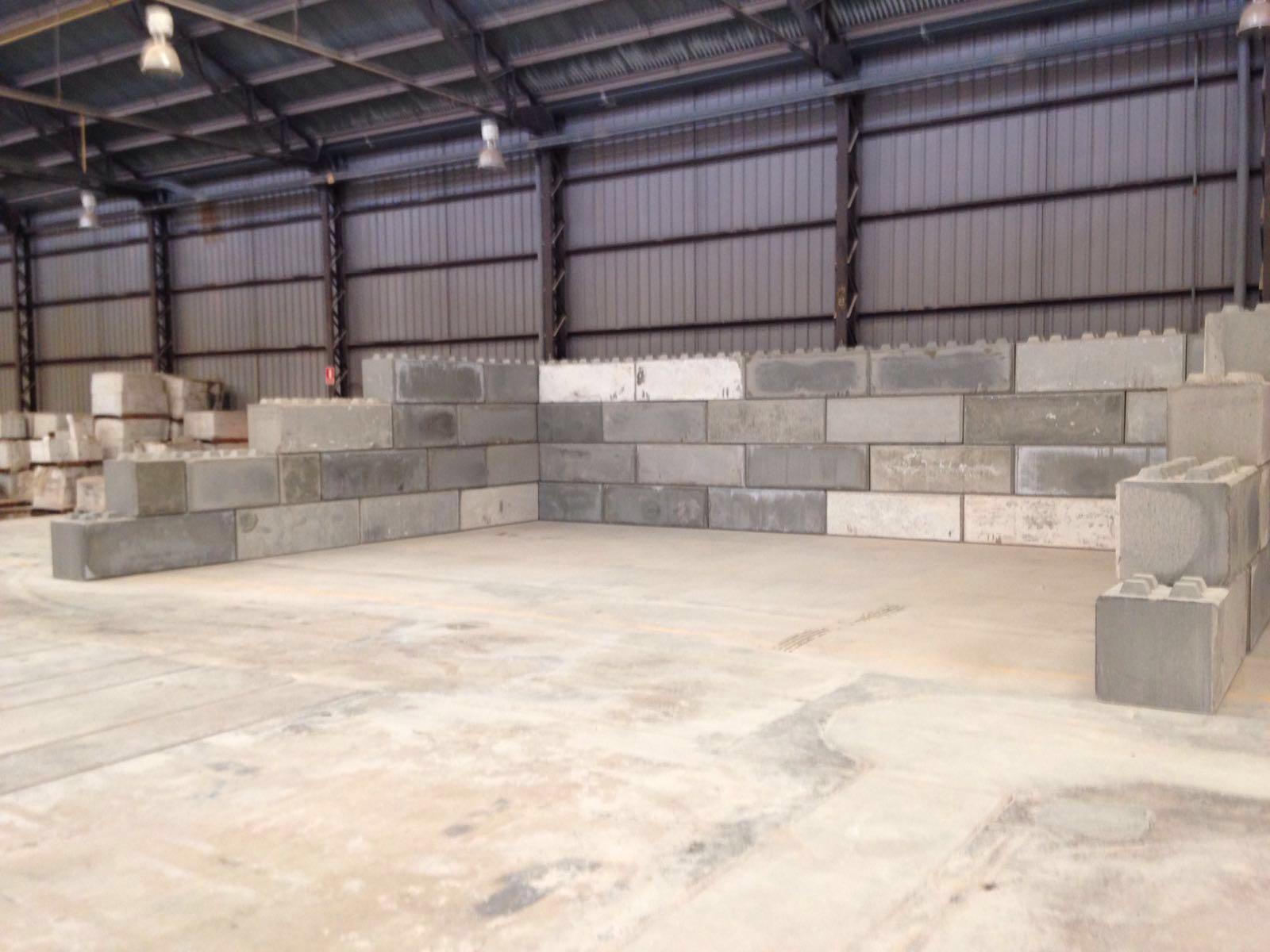 mur bloc béton lego